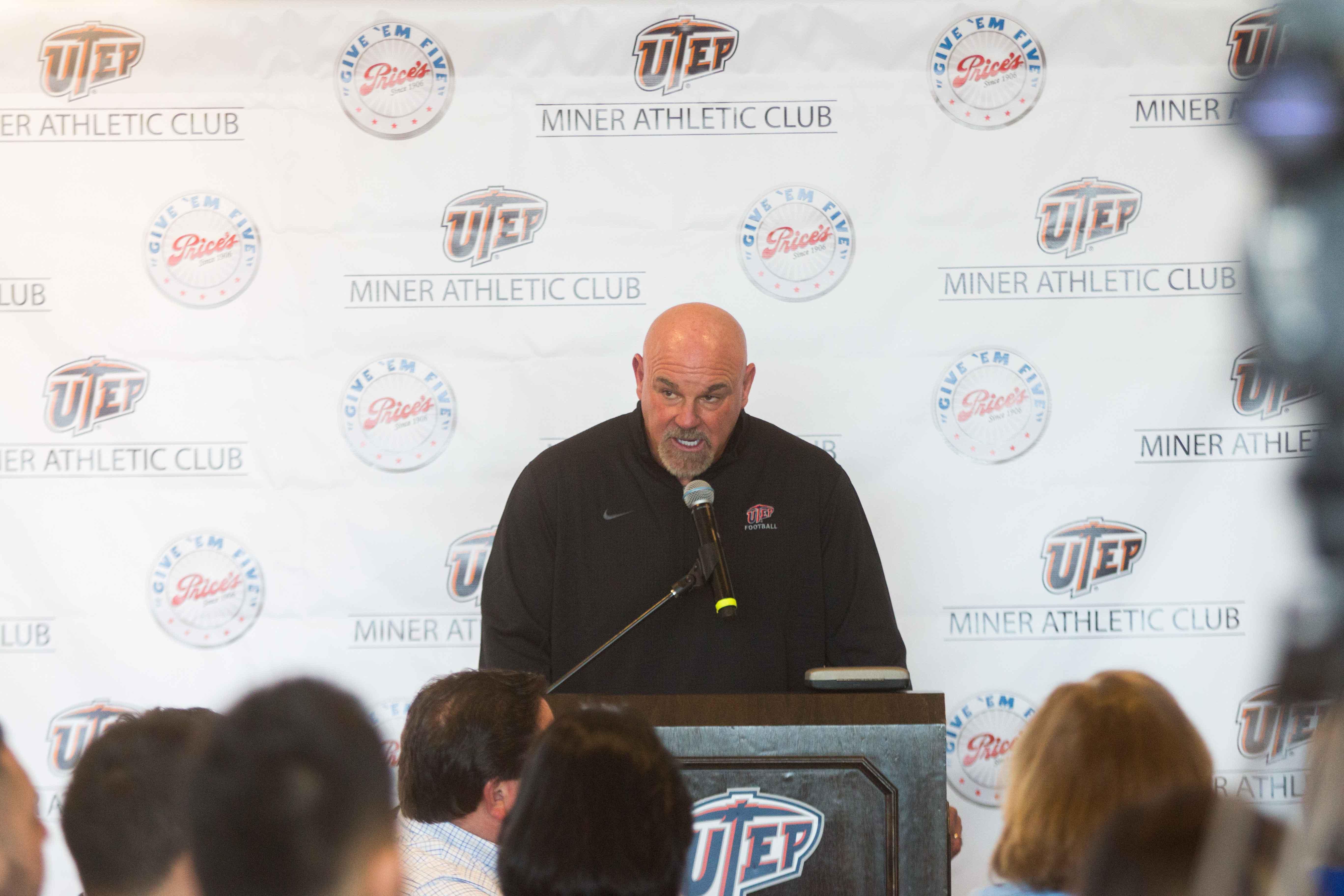 UTEP Head Coach Sean Kugler announces the 2017 signees.