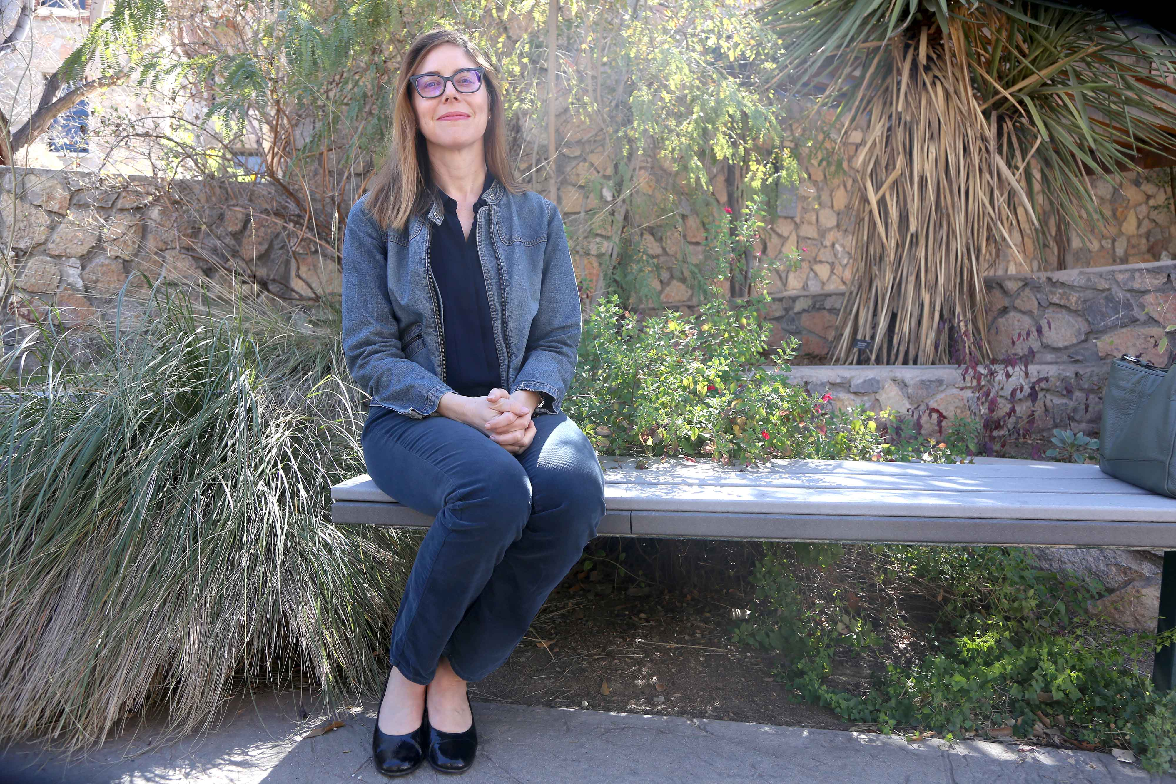 Associate professor of statistics, Amy Wagler is making efforts to get more students involved in the Frontera Land Alliance.