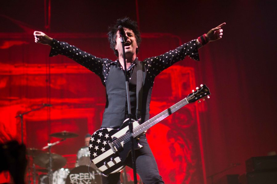 Green Day performs in El Paso, Texas on Thursday, March 2.