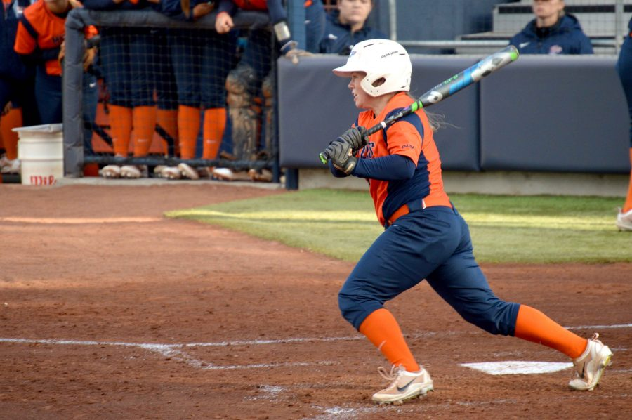 Miner+softball+swept+by+NMSU+in+Tuesday+doubleheader