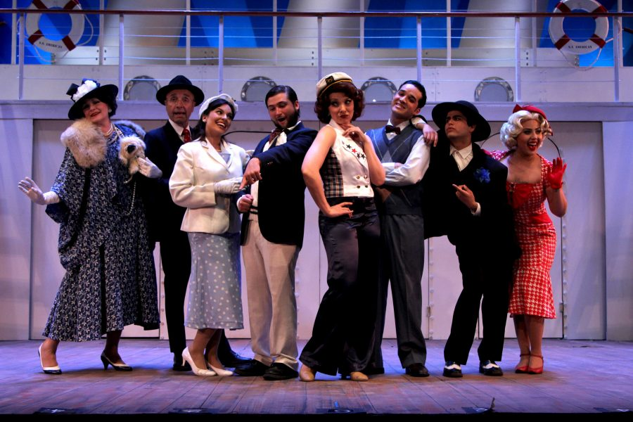 'Anything Goes' will be playing at the UTEP Dinner Theatre until May 7.