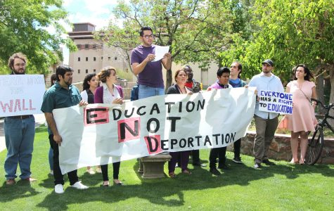 """Sanctuary campus efforts made through """"Education not Deportation"""""""