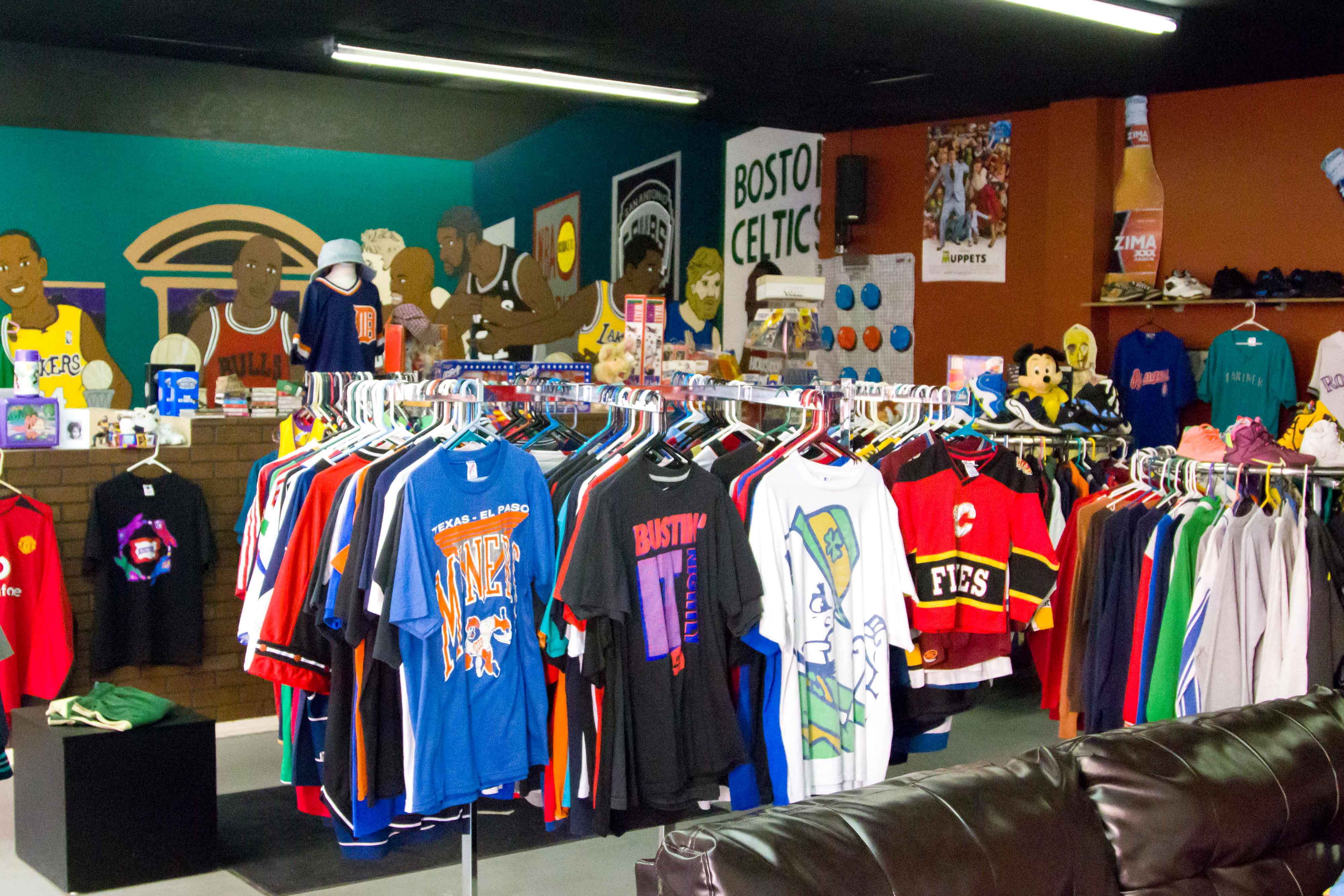 Sun City Throwback is currently located at 1840 N. Lee Trevino until May.