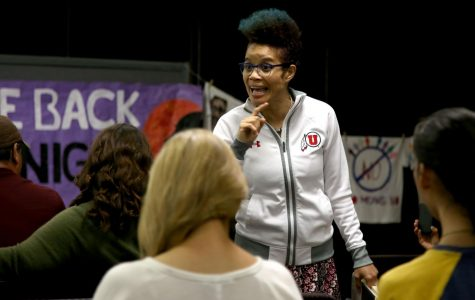Students speak out at Take Back the Night