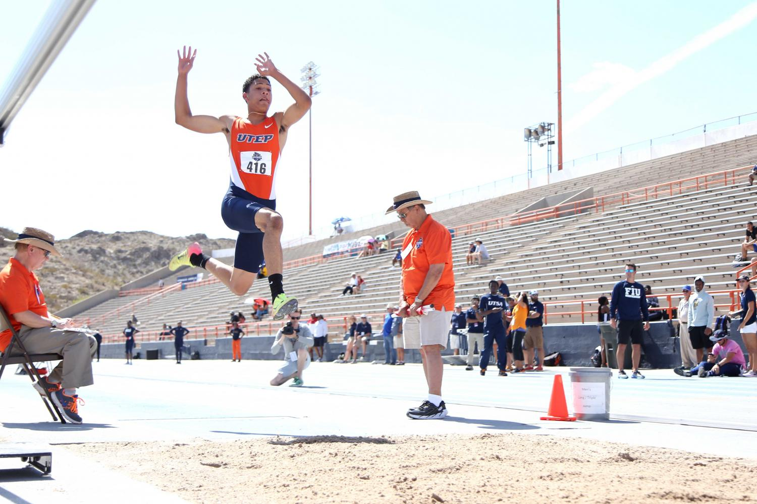 Track and field finishes day three of C-USA championships