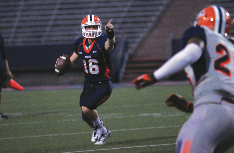 Mack Leftwich saw his UTEP career cut short due to injury, but the former starting quarterback has found a new calling in the high school teaching and coaching ranks.