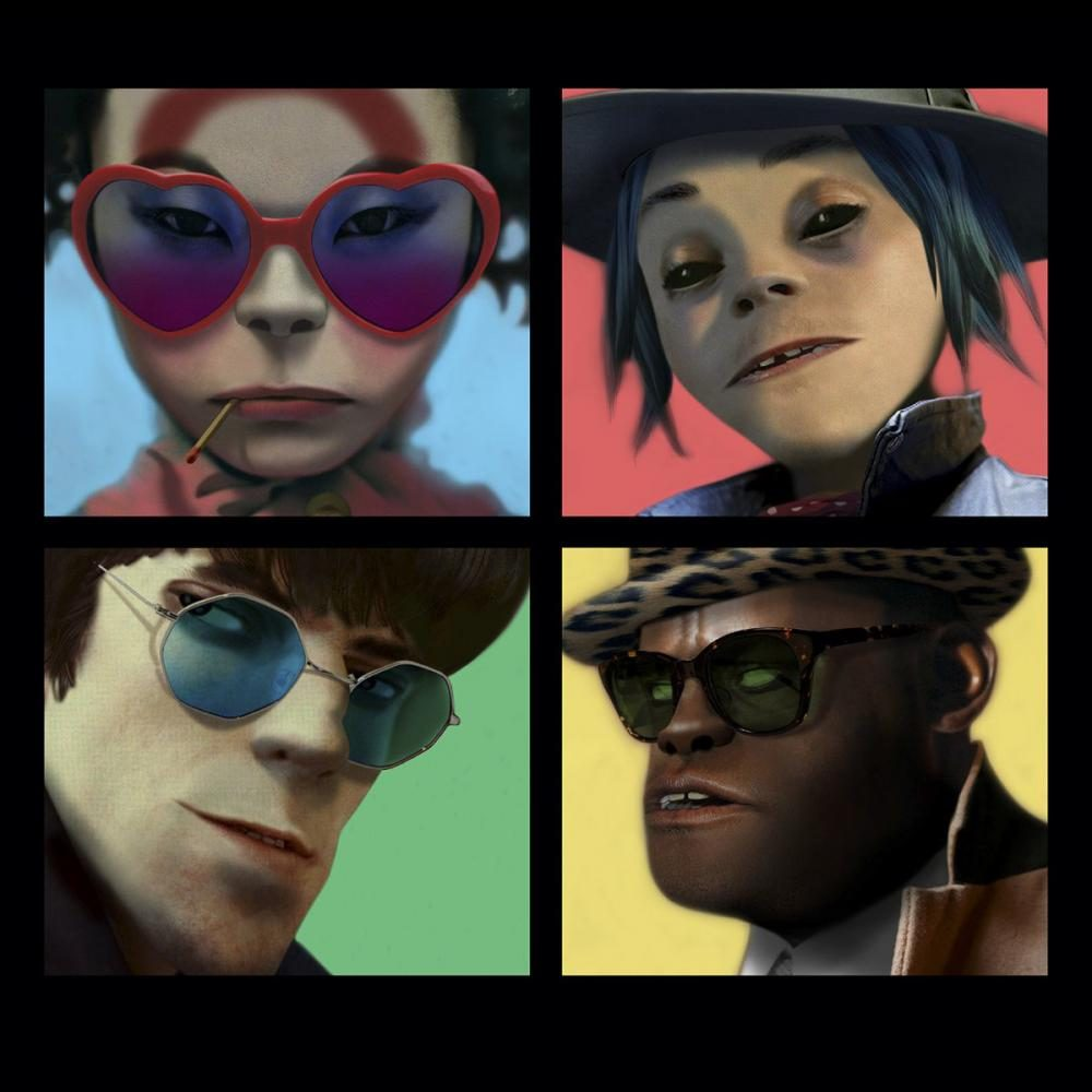 Gorillaz and guests take on American politics in 'Humanz'