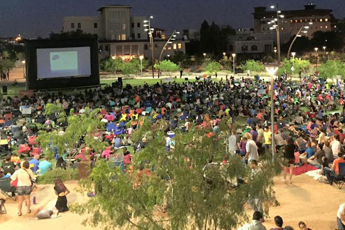 Movies on the Lawn returns this weekend