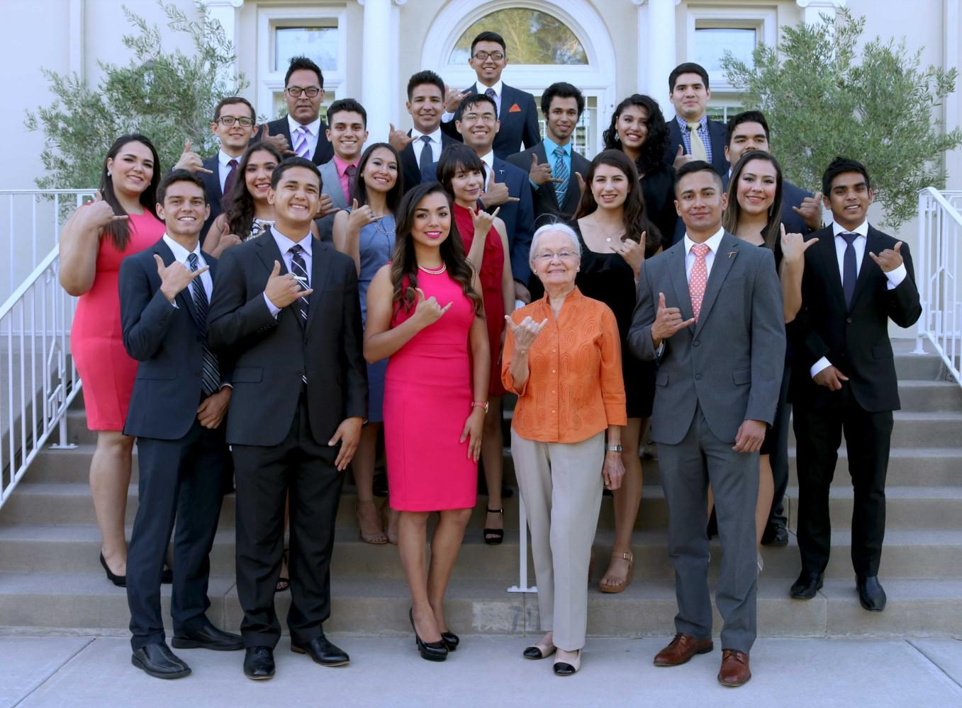 Incoming Student Government Association officers swore-in at Hoover House
