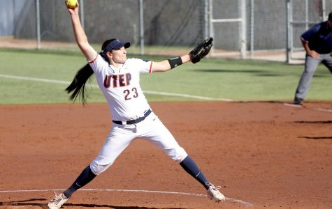 Erika Harrawood saved her best season for last and has struck out 46 batters so far.