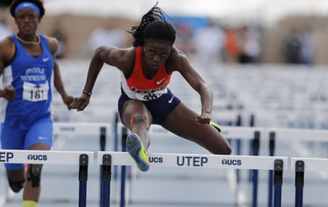 Track and field closes out strong