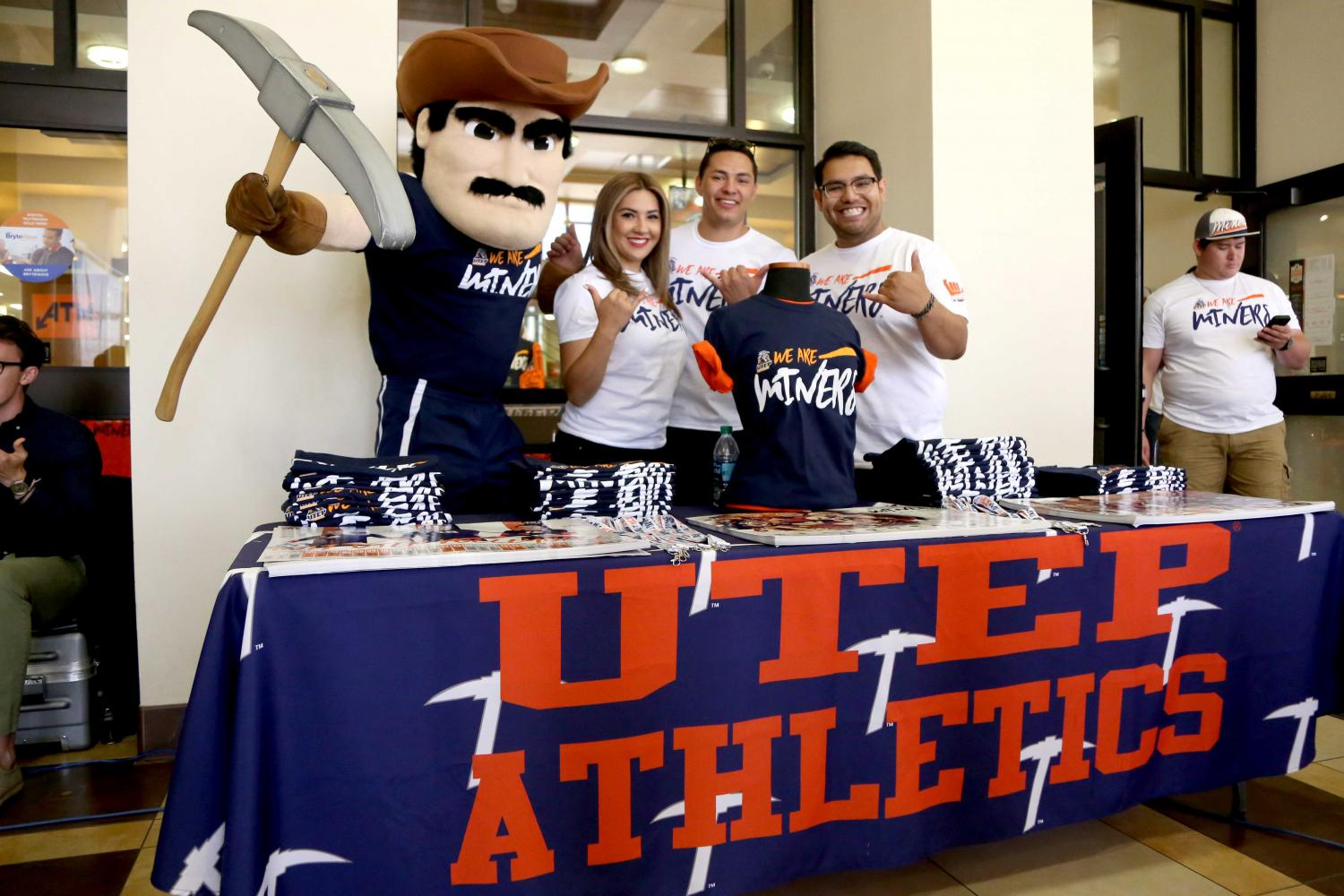 UTEP+introduces+its+2017-18+marketing+campaign.