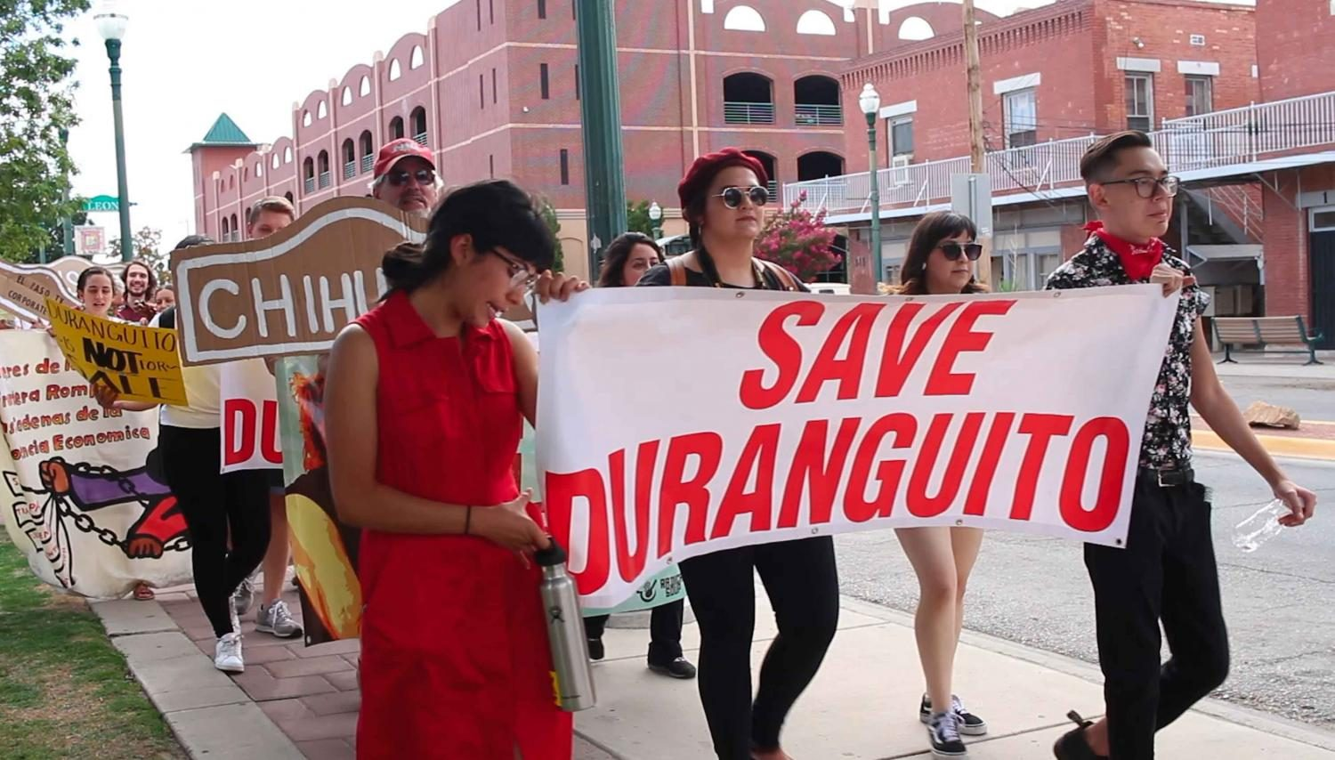 Duranguito+solidarity+march+advocates+for+preservation+of+community