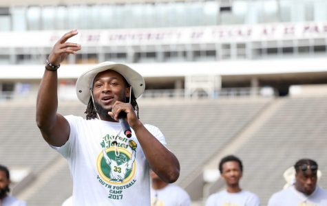 Aaron Jones Youth Skills Camp saw over 1,200 attendees throughout the two days of the camp.