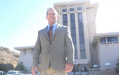 William Robertson has been with UTEP's College of Education for 13 years.