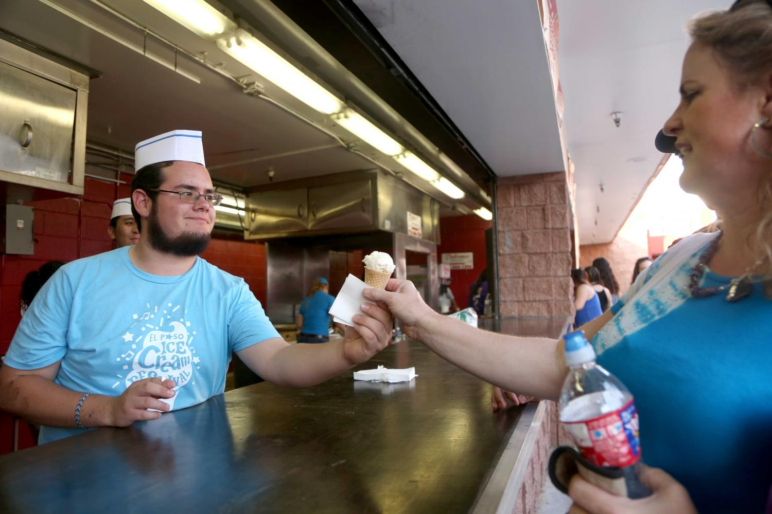 Ice Cream fest took place at Cohen stadium for the second year in a row on Sunday, July 2.
