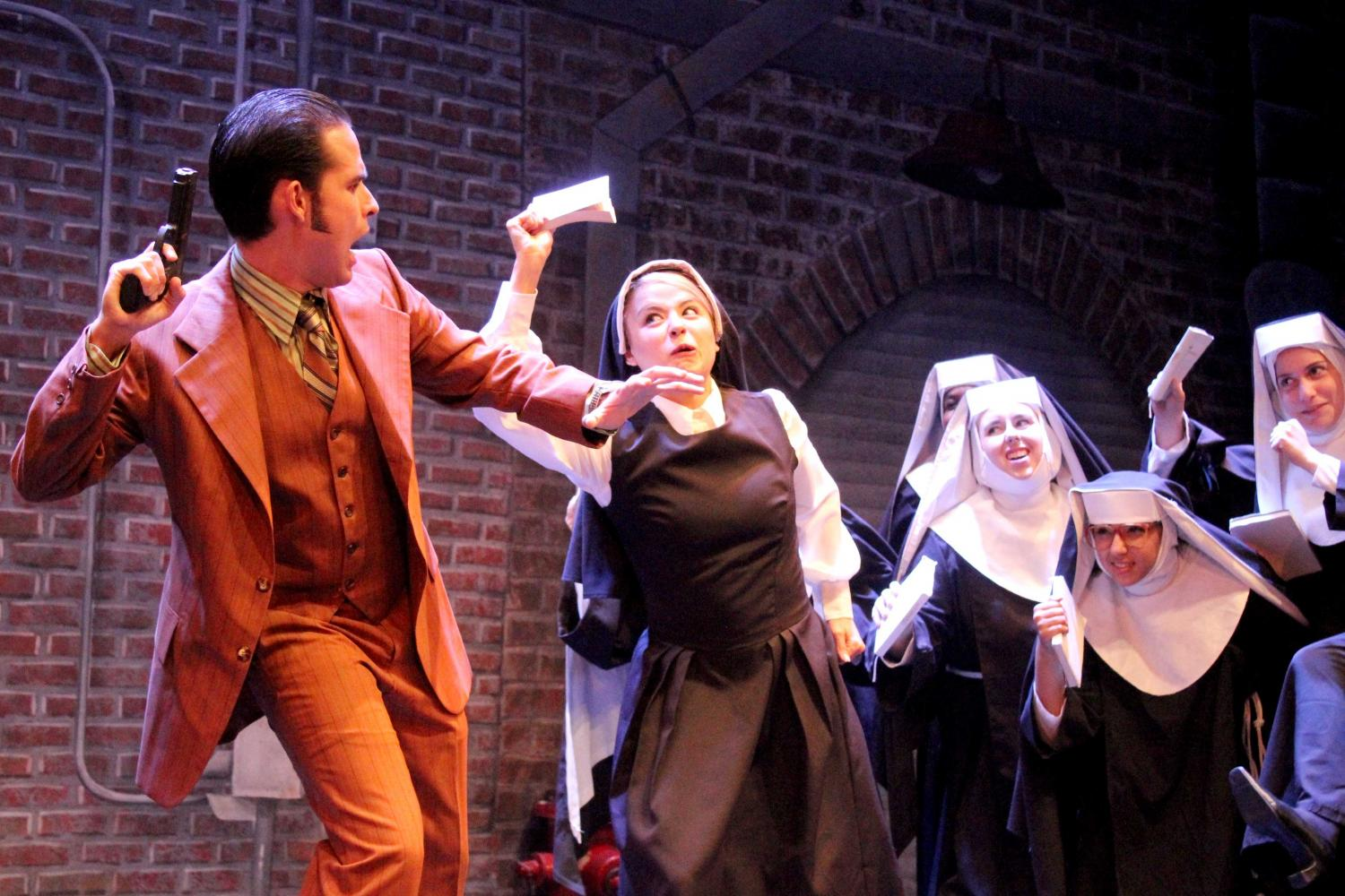 Sister Act opened  on Saturday to a sold out crowd at the UTEP Dinner Theatre.