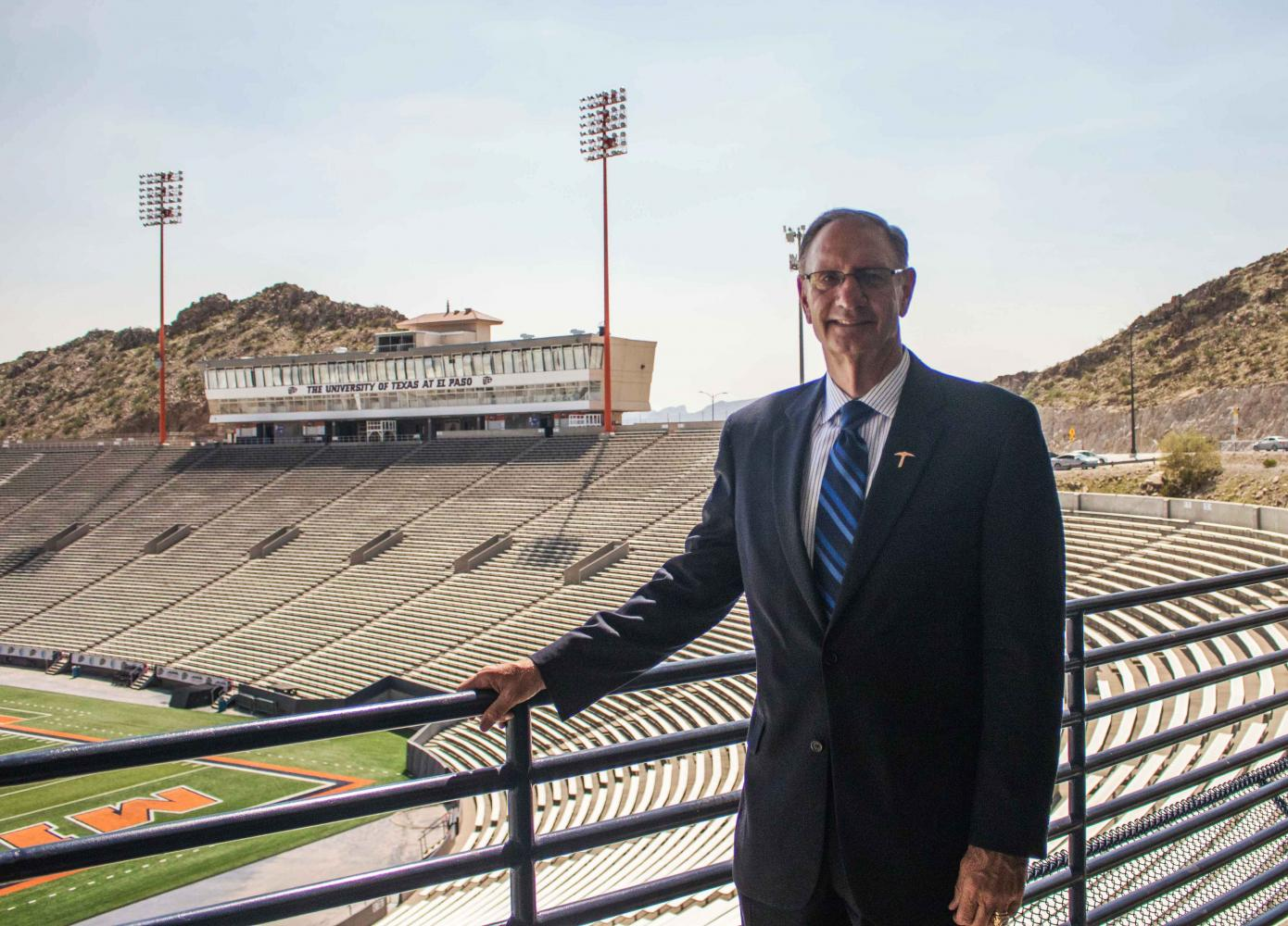 Former UTEP Director of Athletics Bob Stull shares his memories and says his goodbyes to El Paso.