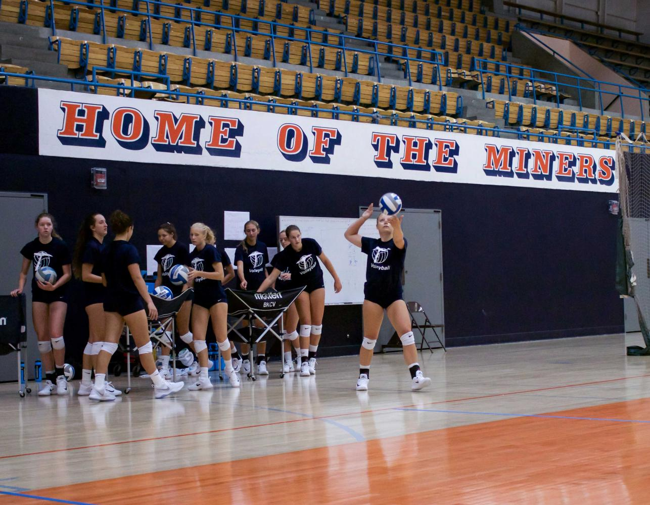 The Miners fell 3-1 to Montana in their first match of the season.
