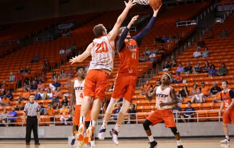 UTEP basketball veterans prevail over newcomers in scrimmage
