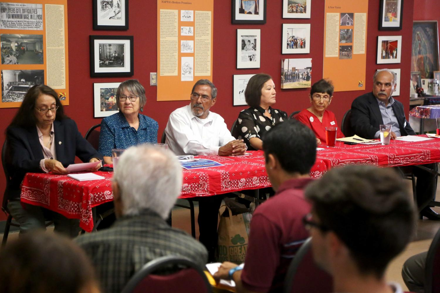 Local activists discuss effects of NAFTA