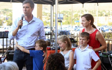 Congressman O'Rourke speaks on SB 4 and coming home as he hosts Hurricane Harvey relief event