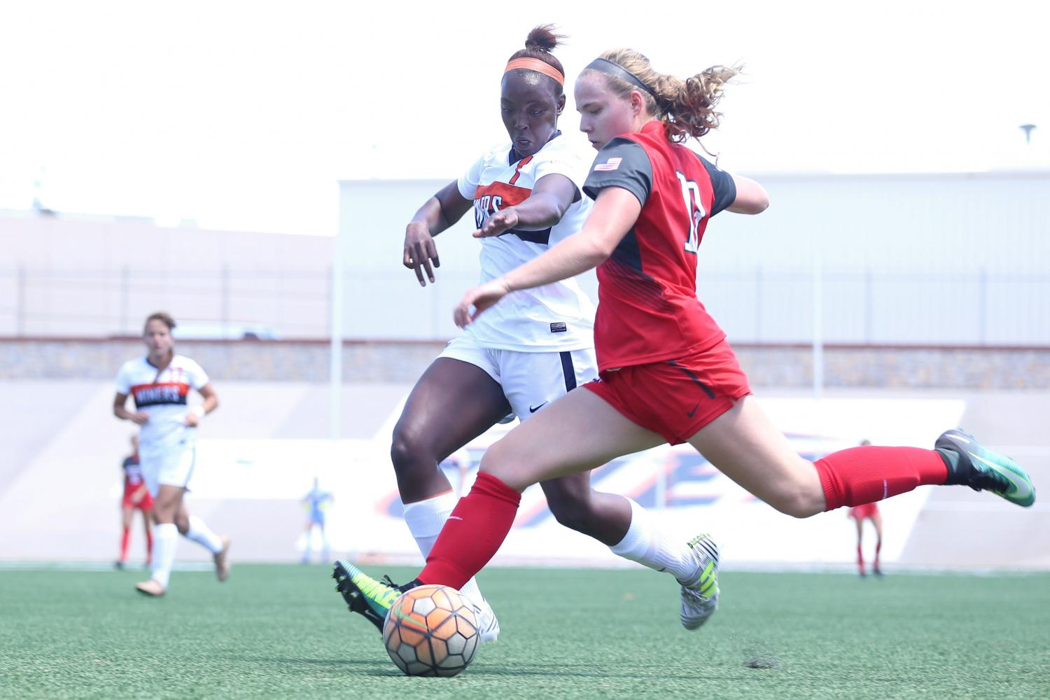 UTEP womens soccer falls to Arizona in exhibition game