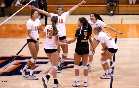 Volleyball opens home schedule against Texas Tech