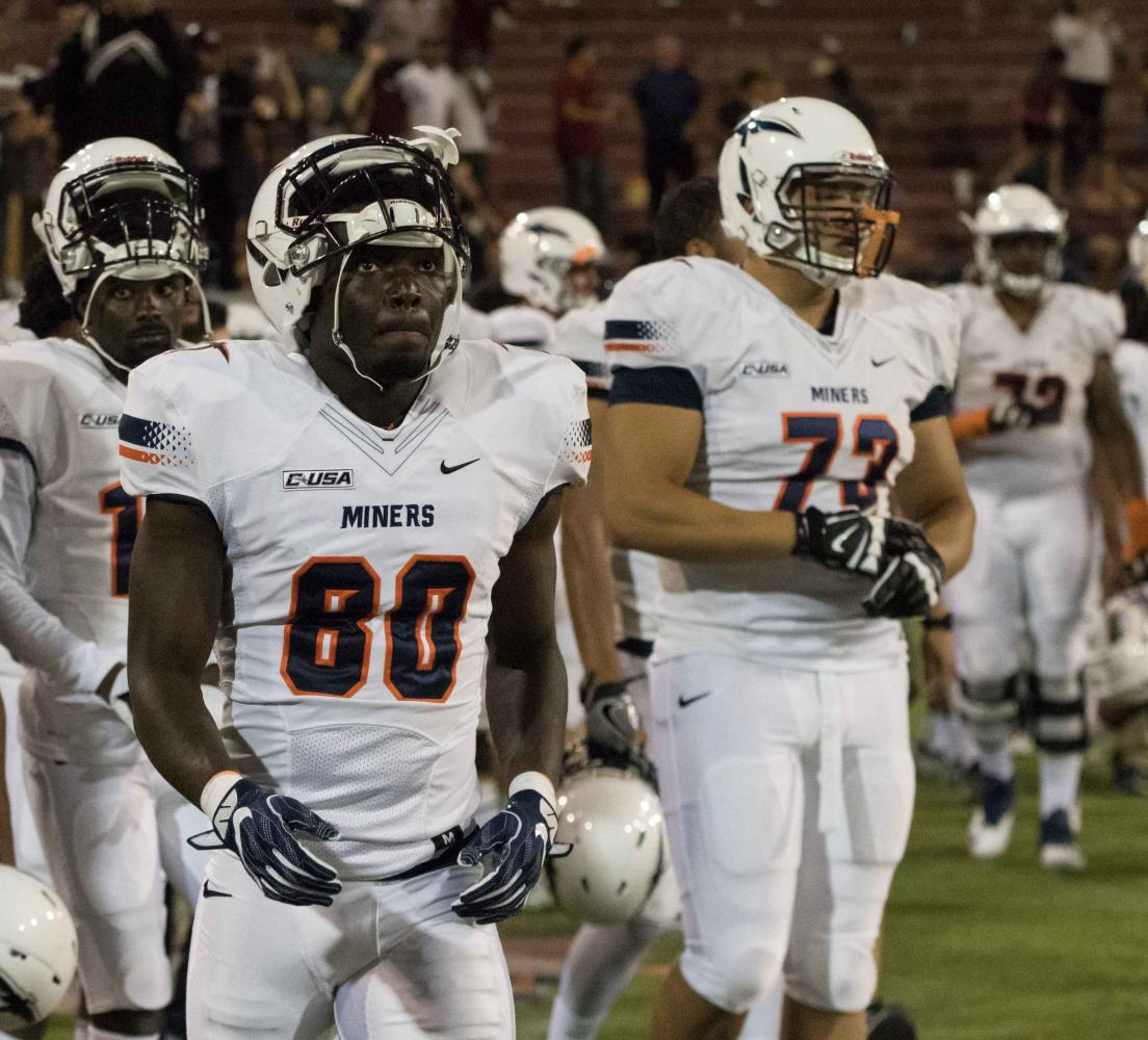 The Miners fell to the Aggies for the first time since 2008.