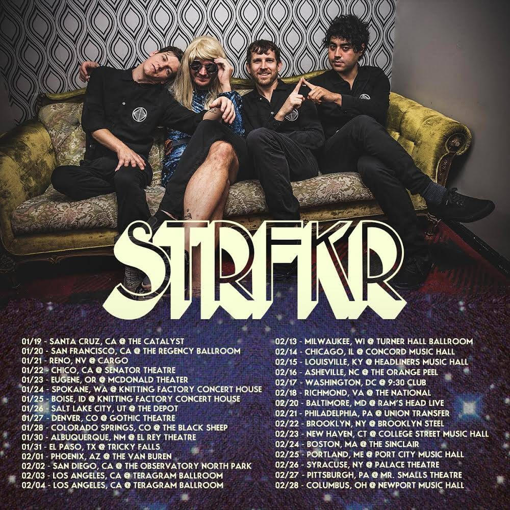 STRFKR announces 2018 El Paso tour date