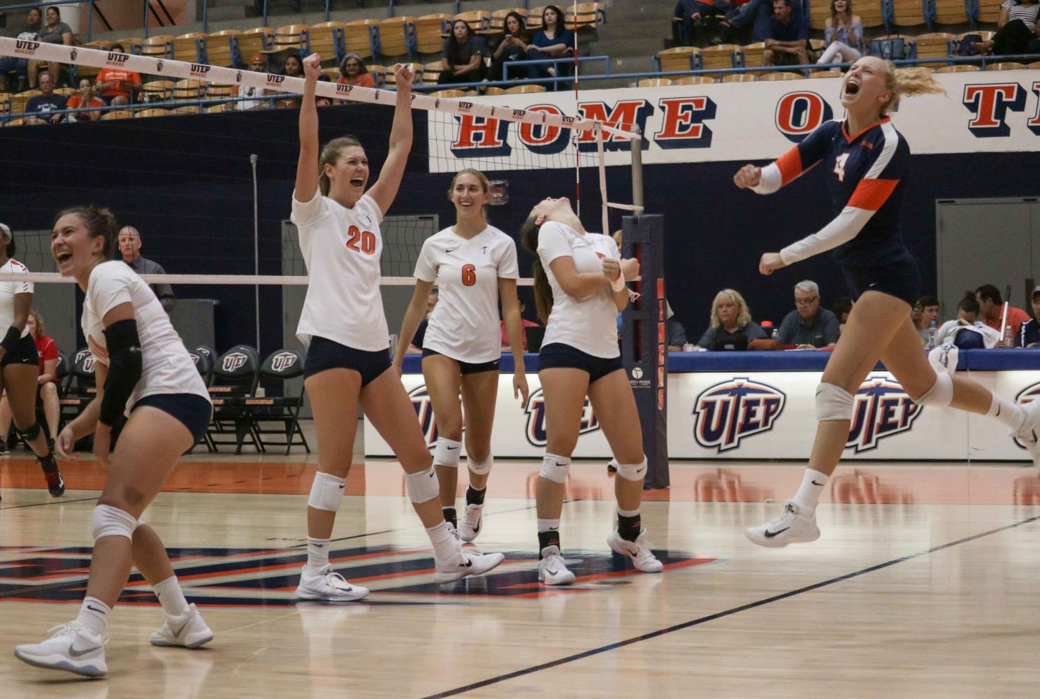 The Miners defeated Youngstown State 3-2 on Saturday afternoon.