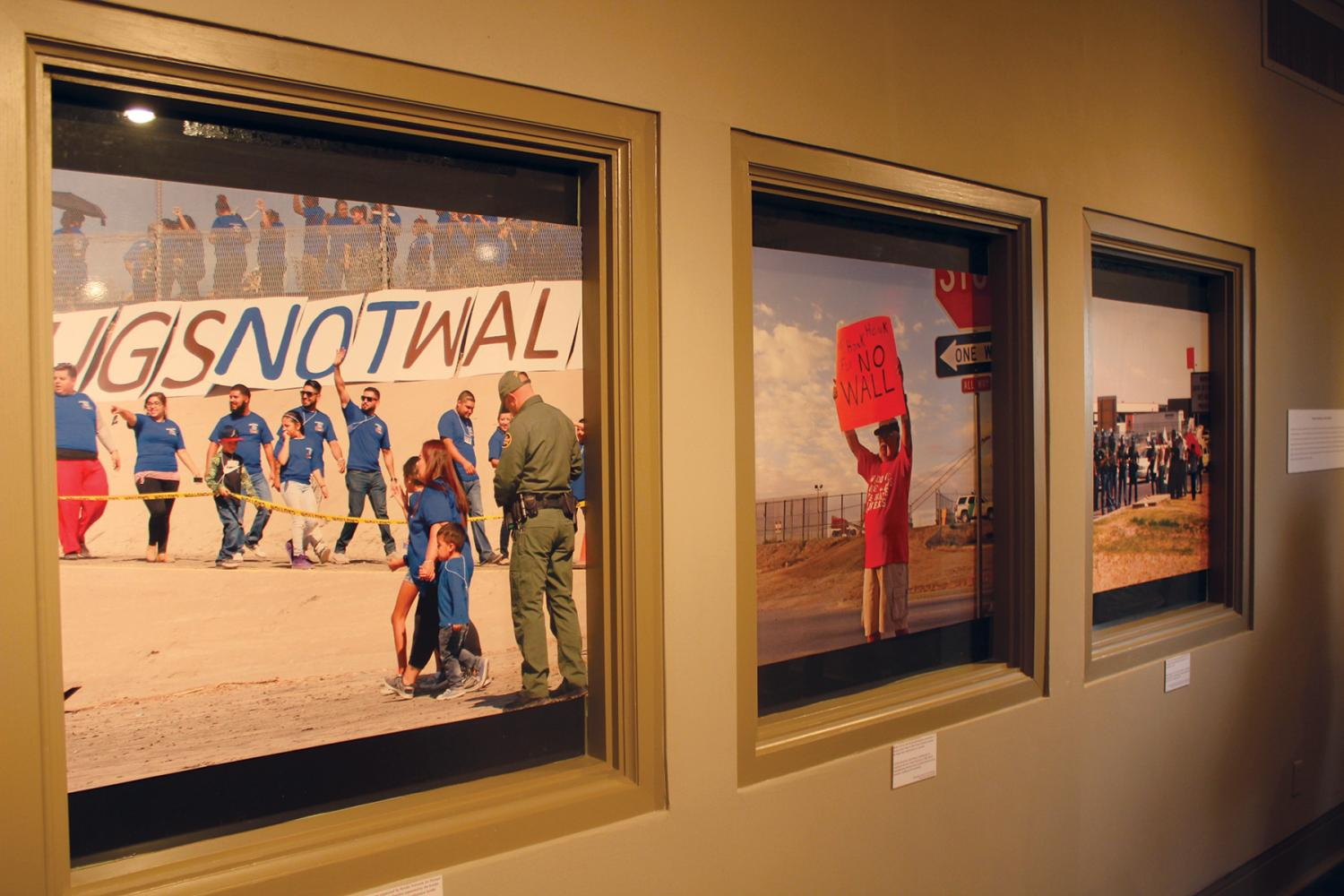Both exhibits will be featured until Dec. 16 at the Centennial Museum.