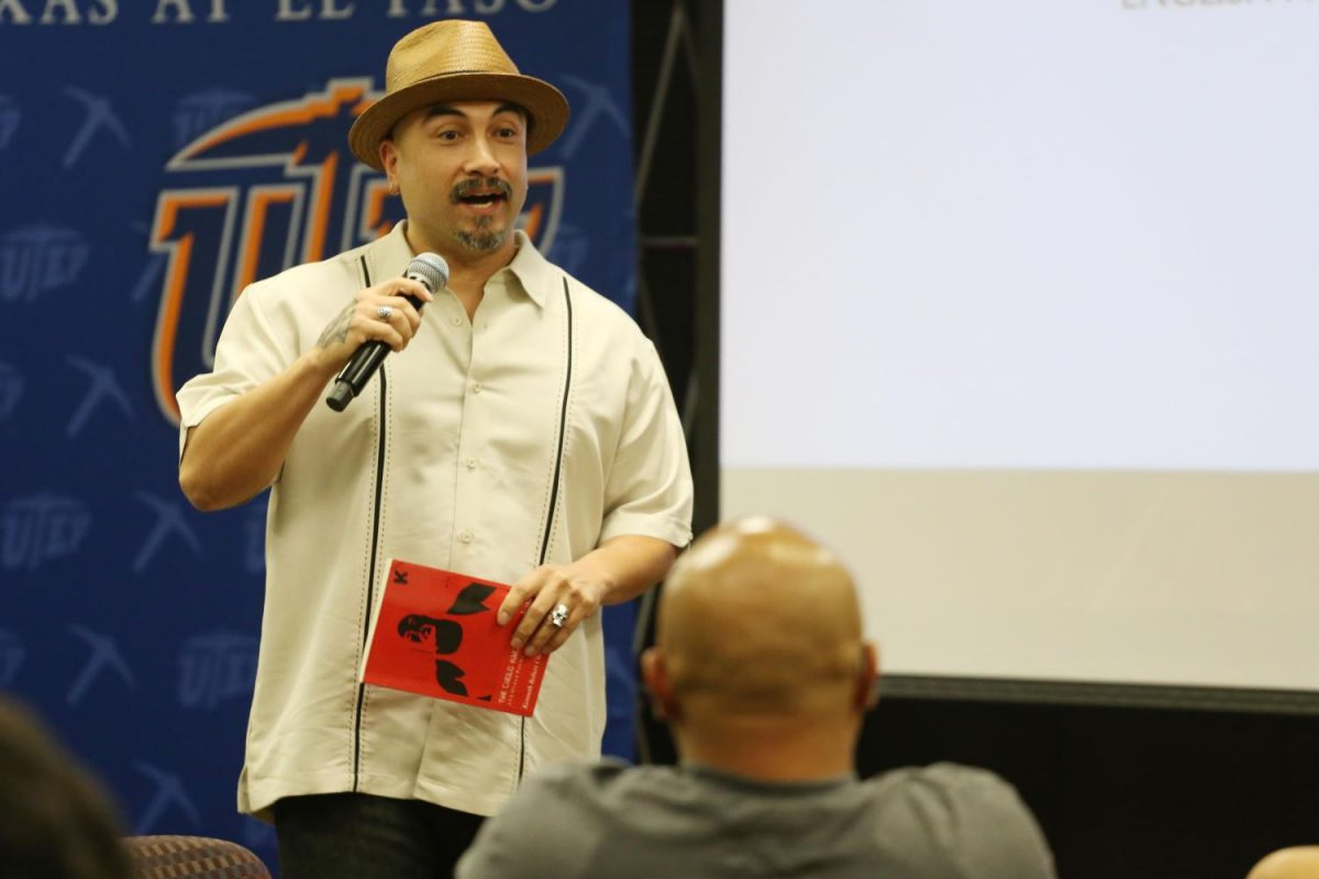 "Kenneth Chacón debuted his collection of poetry called ""The Cholo Who Said Nothing."""