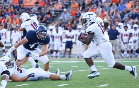 UTEP running back Kevin Dove will use his family's losses in storm as the motivation the rest of the season.