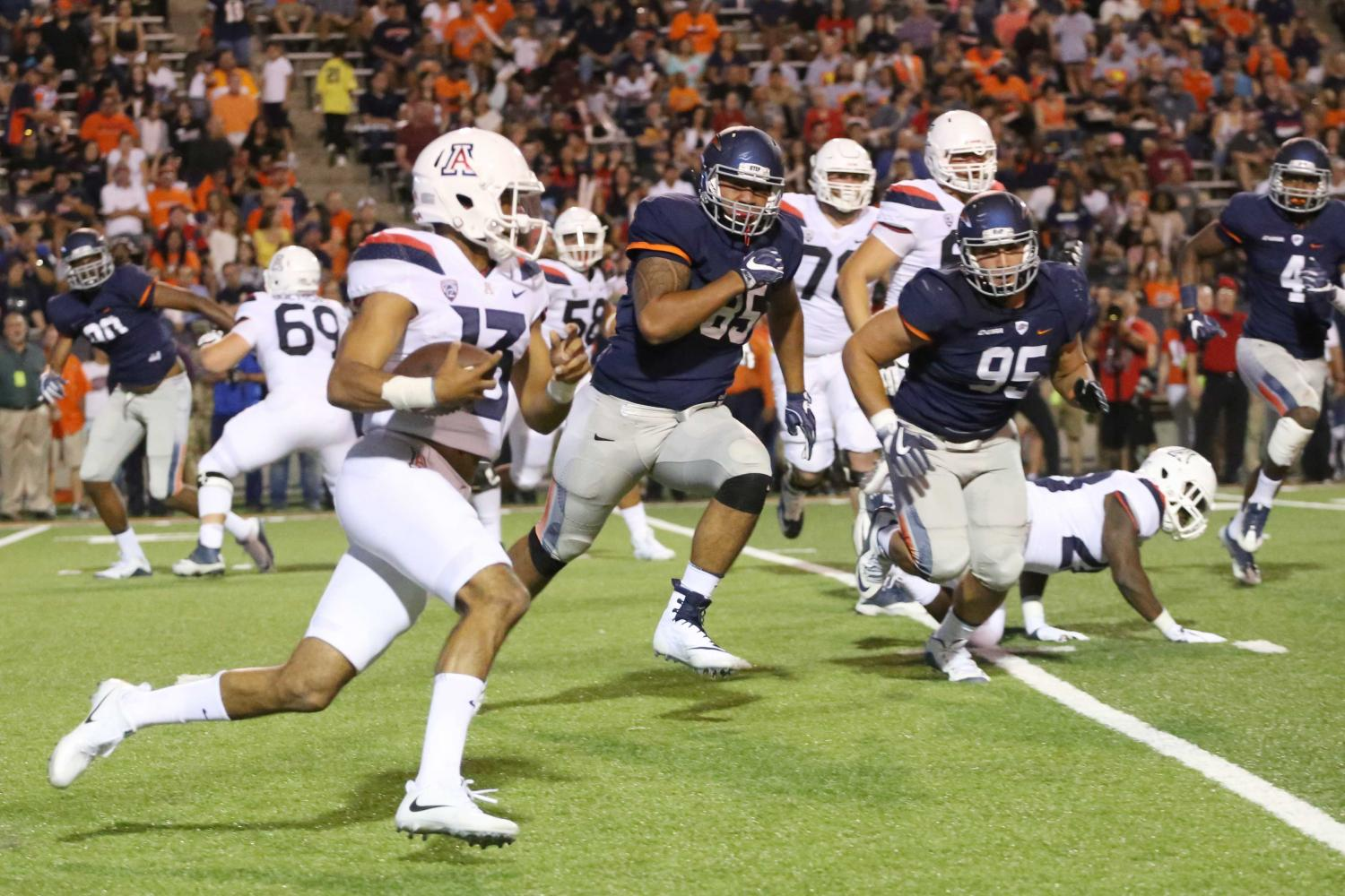 Miners blown out by Arizona 63-16