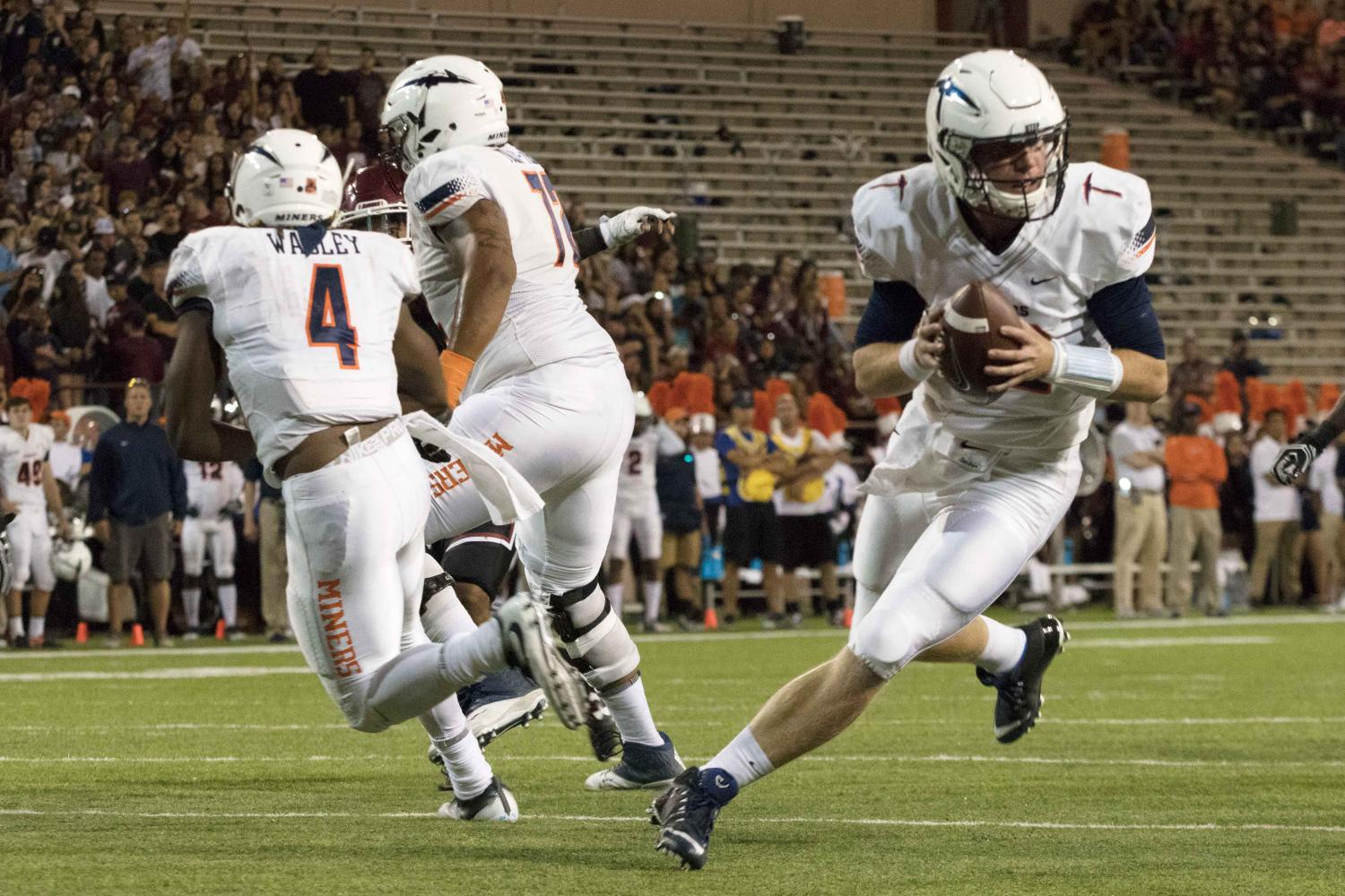 The UTEP football team travels to West Point this weekend to face Army.