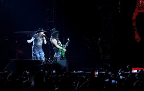 Guns N' Roses played at the Sun Bowl on Wednesday, Sept. 6, for their