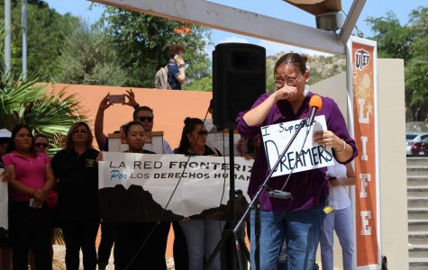 UTEP students protest against the removal of DACA