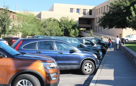 UTEP parking: survival of the fittest