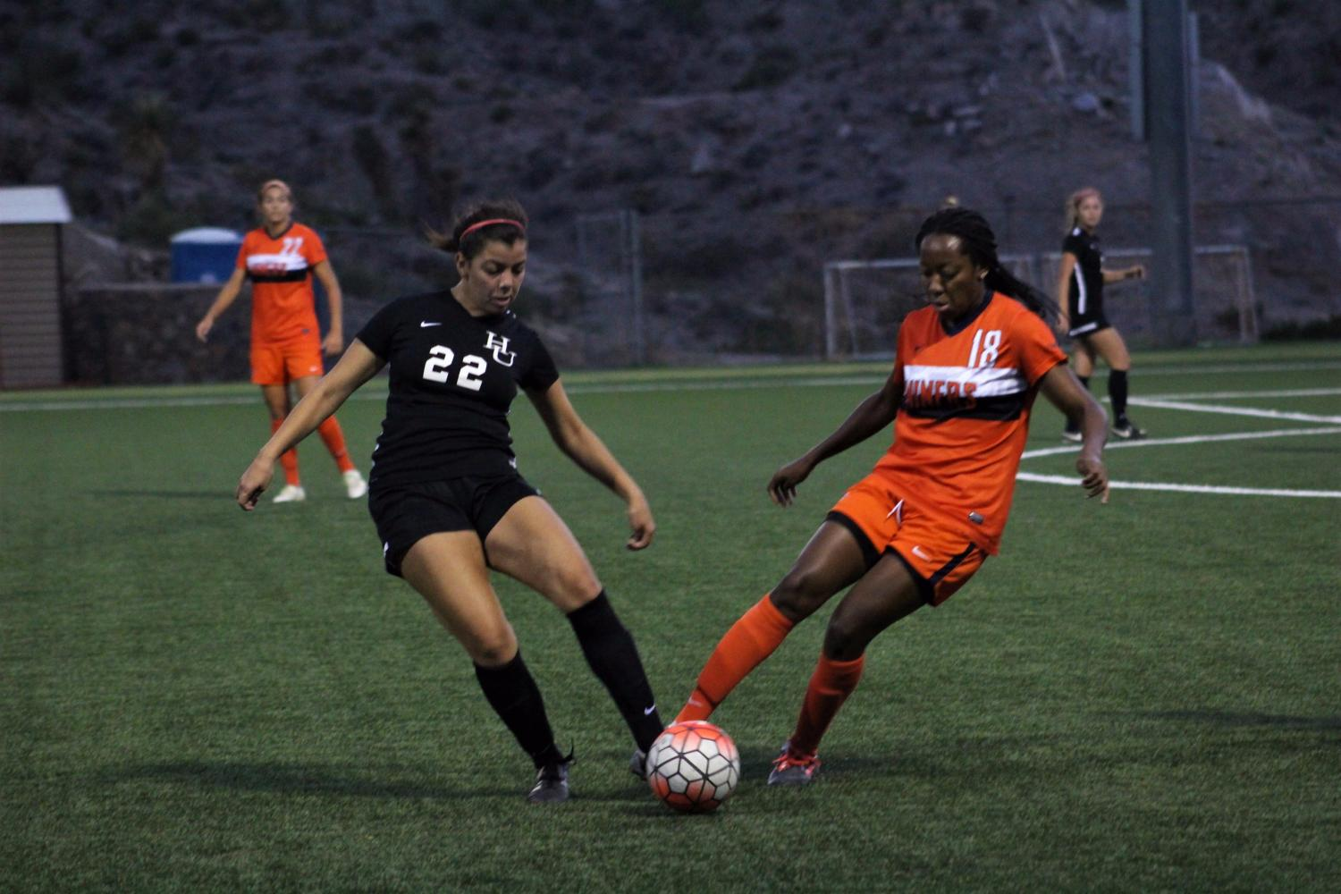 Miners blowout New Mexico Highlands 8-0
