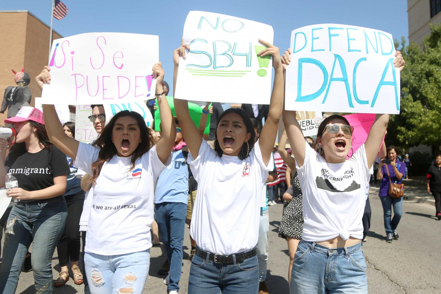 Trump administration announced the end of DACA