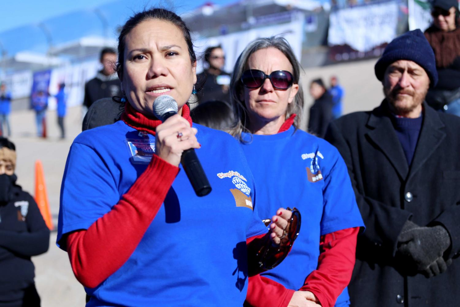 Veronica Escobar is running for Beto O'Rourke's spot for Texas' 16th Congressional District.