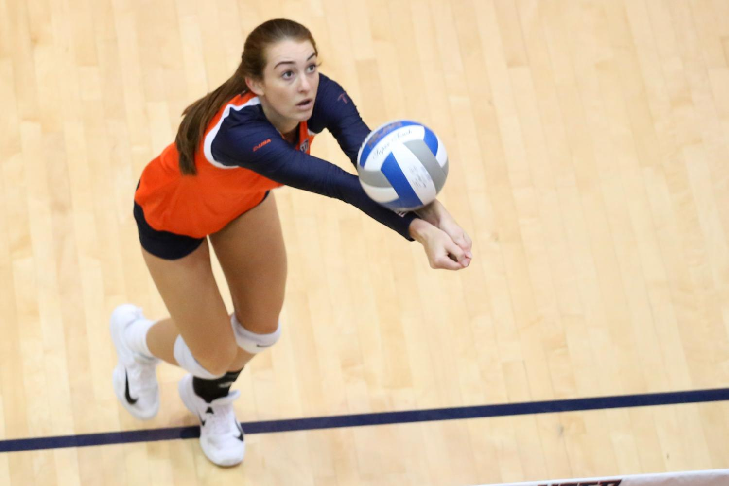 Womens volleyball falls to New Mexico in season finale