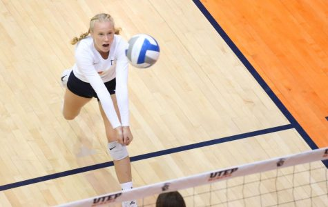 Women's volleyball drops final three sets in loss to UAB