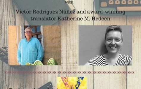 Cuban poet, translator give poetry reading