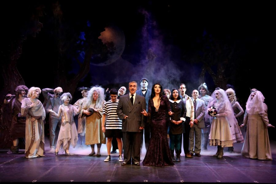 """""""The Addams Family"""" will run from Oct. 18-22, Oct. 25-29 and Nov. 1-5."""