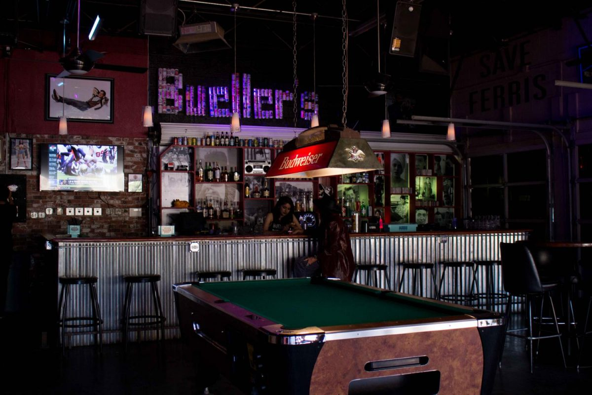 Bueller's Bar is open from 7 a.m. to 2 a.m. Monday-Saturday and 12 p.m. to 2 a.m. on Sundays.