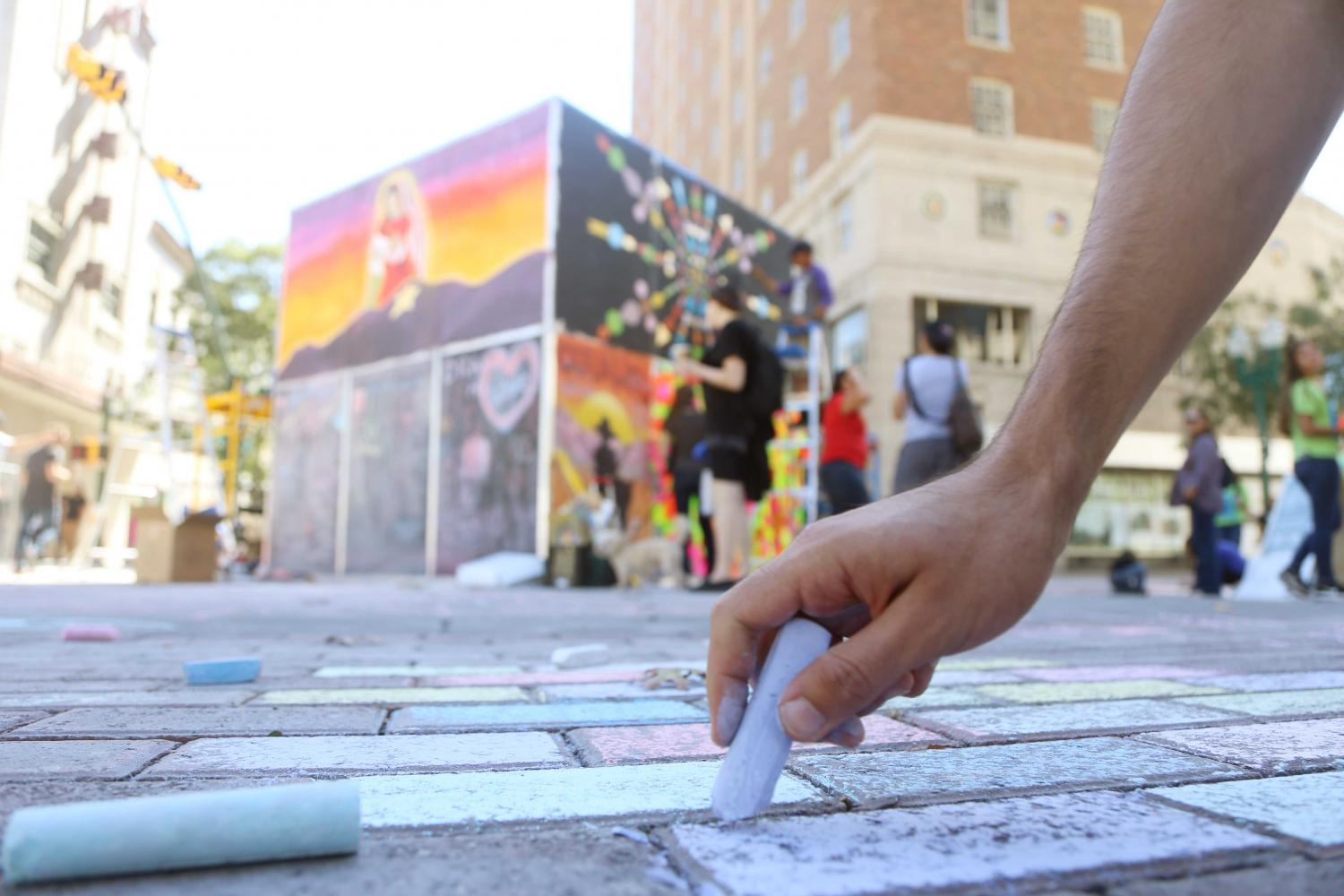 Chalk+the+Block+celebrates+ten+years+with+largest+attendance