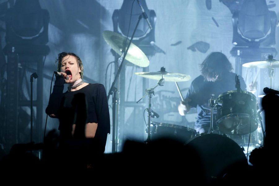 Crystal Castles pack Tricky Falls for frenetic show