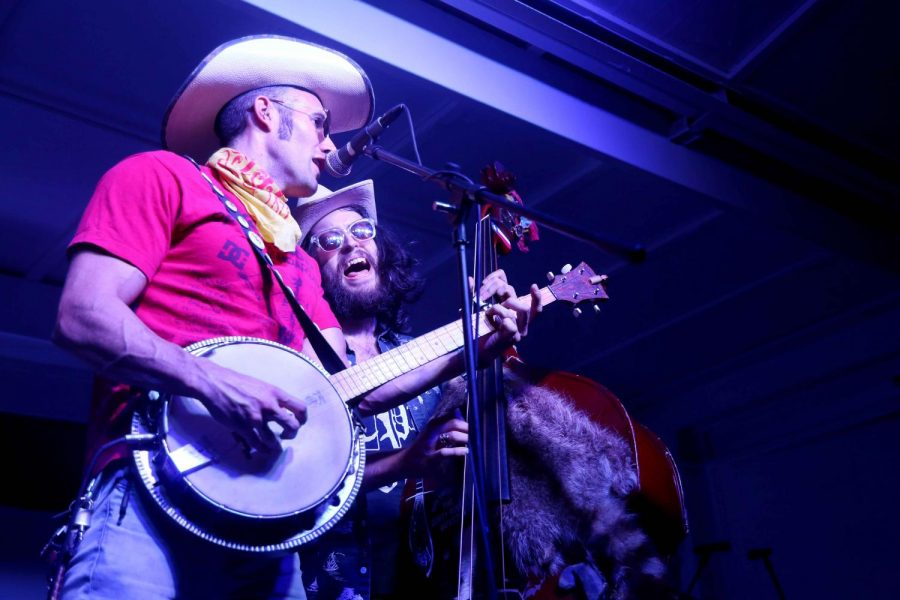 The Dirty River Boys performed at Ardivino's Desert Crossing to fundraise for the Salvation Army, with proceeds going to the hurricane relief.
